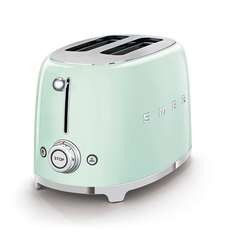 Toaster Two-slice Toaster Light Green Smeg - Play Offside