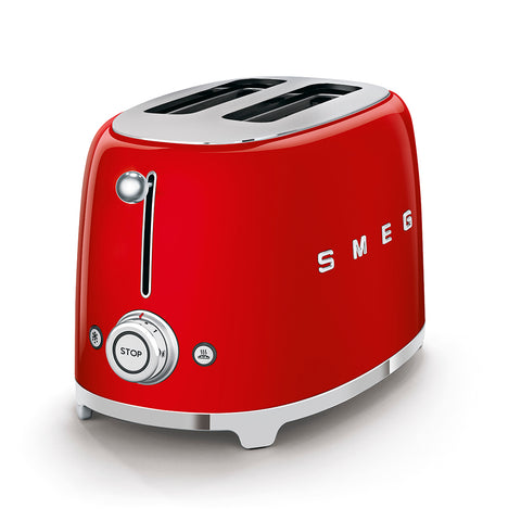 Toaster Two-slice Toaster Red Smeg - Play Offside