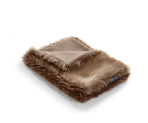 Pet Blanket Super-Soft Faux Fur Cat Blanket Lana Available in 3 colours Brown MiaCara - Play Offside