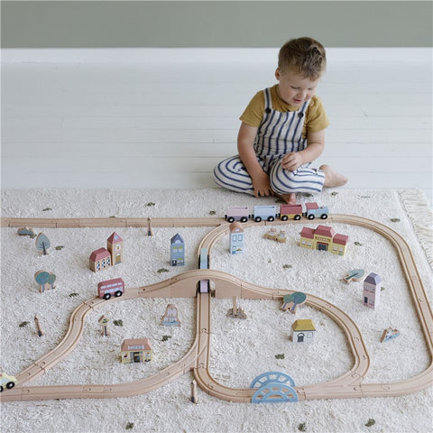 Child Train Set Railway Train XXL Set Suitable from 3 years Little Dutch - Play Offside