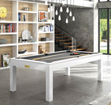 Pool Table Billiard Horizon Pool Table White / Grey Rene Pierre - Play Offside