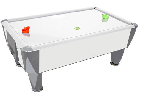Air Hockey Air Hockey Mini Home Available in 2 Colours White Sam Billares - Play Offside