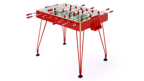 Football Table Apollo20 Design Football Table Red / Telescopic Fas Pendezza - Play Offside