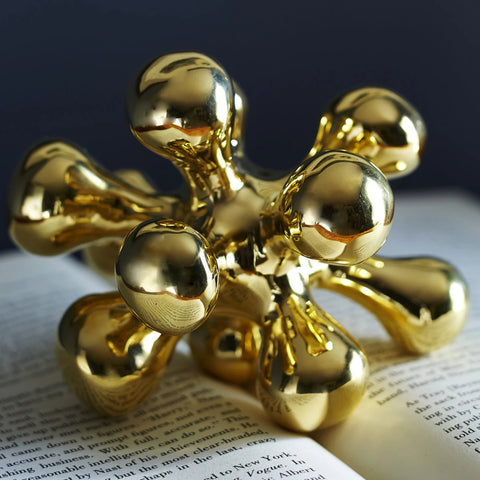Object Brass Orb for Decoration or Paper Weight Jonathan Adler - Play Offside