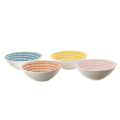 Bowl Handpainted Set of 4 Snack Bowl Seeds Pols Potten - Play Offside