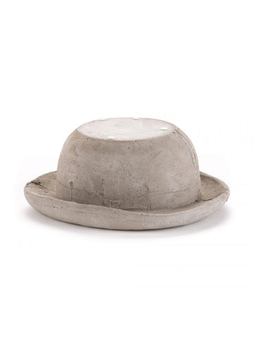 Object Concrete Hat as Object & Plant Holder Seletti - Play Offside
