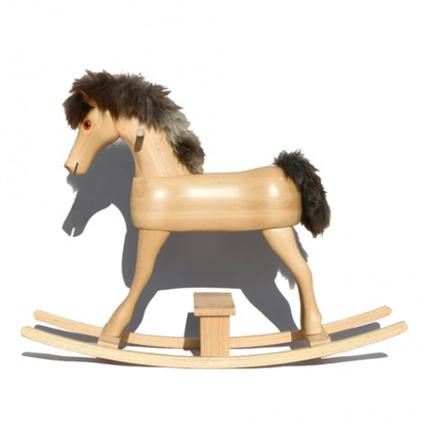 Rocking Horse Wood Rocking Horse Conny Meier Germany - Play Offside
