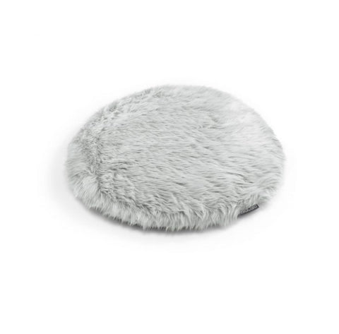 Cat Cushion Soft Faux Fur Cat Cushion Lana Available in 2 Colours Light Grey MiaCara - Play Offside