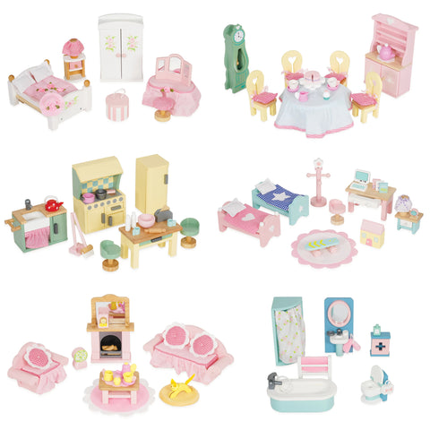 Child Toy Figurines Daisylane Doll House Furniture Collection Le Toy Van - Play Offside