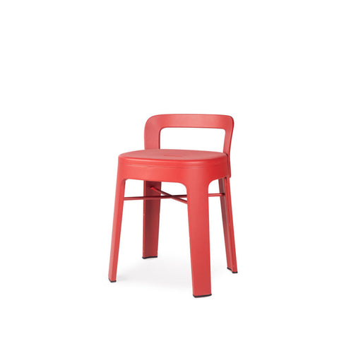 Stool Ombra Stool Small With backrest / Red RS Barcelona - Play Offside