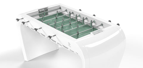 Football Table Blackball Contemporary White Design Football Table Debuchy By Toulet - Play Offside