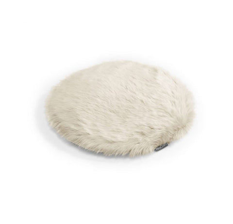 Cat Cushion Soft Faux Fur Cat Cushion Lana Available in 2 Colours Beige MiaCara - Play Offside