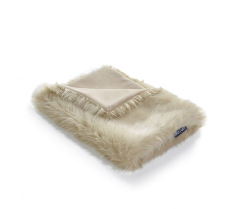 Pet Blanket Super-Soft Faux Fur Cat Blanket Lana Available in 3 colours Beige MiaCara - Play Offside