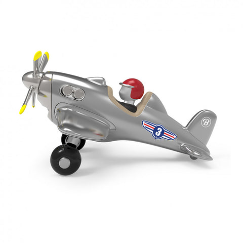 Children Toys Jet Plane Toy Silver Baghera - Play Offside