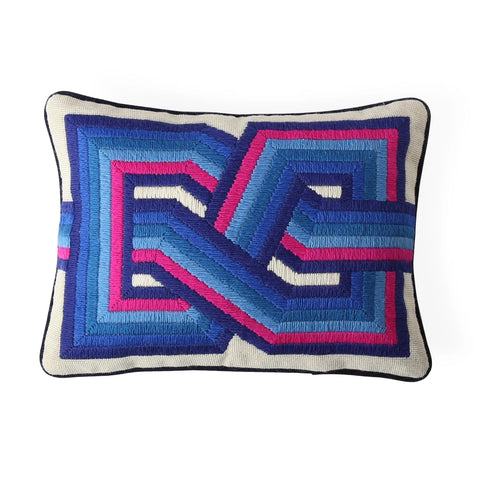 Pillow Bargello Twist Pillow Jonathan Adler - Play Offside