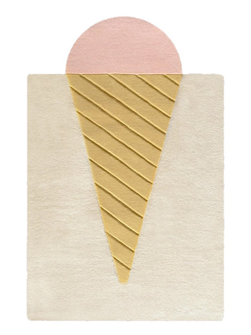 Child Rug Ice Cream Rug Maison Deux - Play Offside