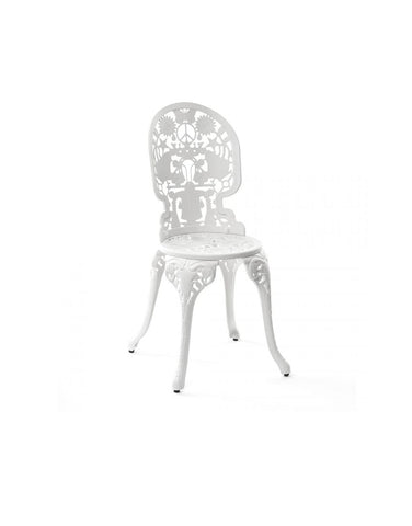Chair Aluminium Outdoor Victorian Design Chair Seletti - Play Offside