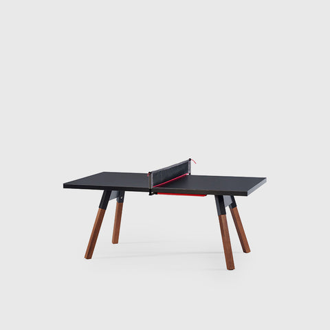 Ping-Pong Table 180 You & Me Ping-Pong Table / Dinning Table Black RS Barcelona - Play Offside