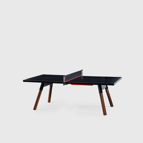 Ping-Pong Table 220 You & Me Ping-Pong Table / Dinning Table Black RS Barcelona - Play Offside