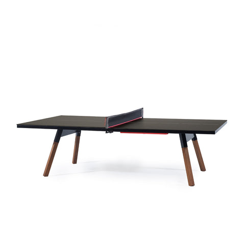Ping-Pong Table You & Me Ping-Pong Table Tournament Size / Office / Dinning Table Black RS Barcelona - Play Offside