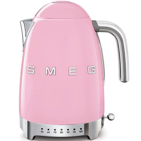 Kettle Kettle with Temperature Control Pink Smeg - Play Offside