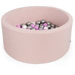 Child Ball Pool Pink Round ball pool Size XXL 115cm Diameter 50cm Height Misioo - Play Offside