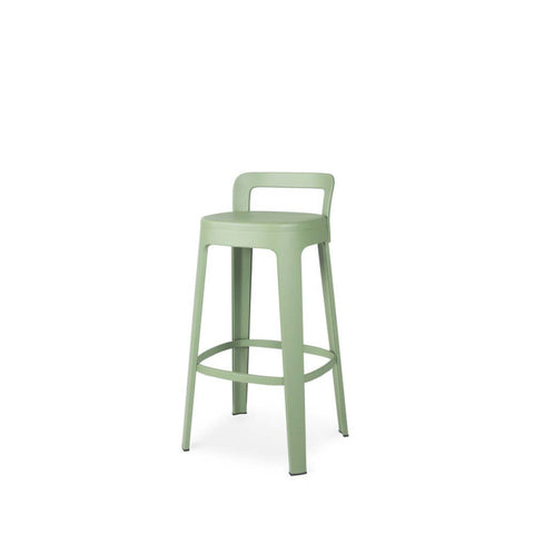 Stool Ombra Stool Bar With backrest / Green RS Barcelona - Play Offside