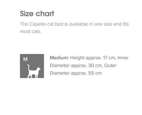Cat Bed Luxe Cat Bed Capello MiaCara - Play Offside