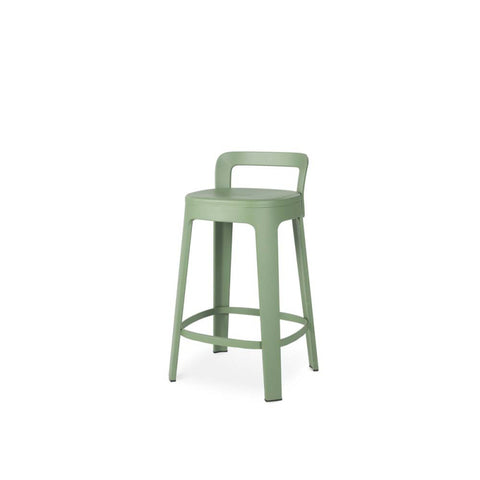 Stool Ombra Stool Medium With backrest / Green RS Barcelona - Play Offside