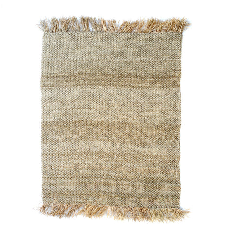 Carpet Raffia Fringed Carpet Rectangular 180x240cm Bazar Bizar - Play Offside