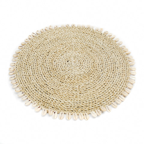 Placemat Seagrass Shell Placemat Bazar Bizar - Play Offside