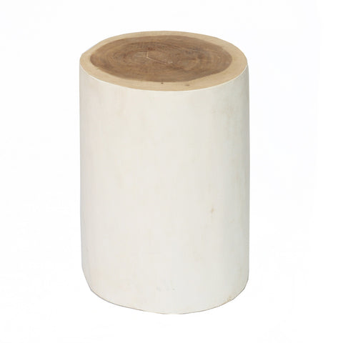 Side Table Tribe Stool - Side Table White Bazar Bizar - Play Offside