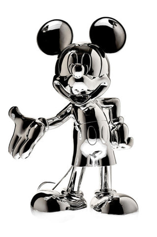 Sculpture Mickey Welcome 30cm Figurine Silver LeblonDelienne - Play Offside