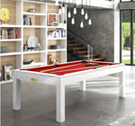 Pool Table Billiard Horizon Pool Table White / Red Rene Pierre - Play Offside
