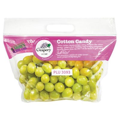 Green Grapes Cotton Candy (2 LB)