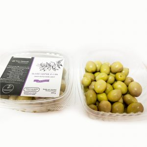 Green Olives Garlic (250 g)