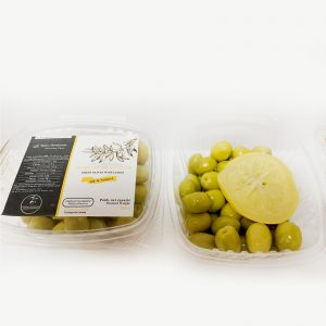 Green Olives Lemon (250g)