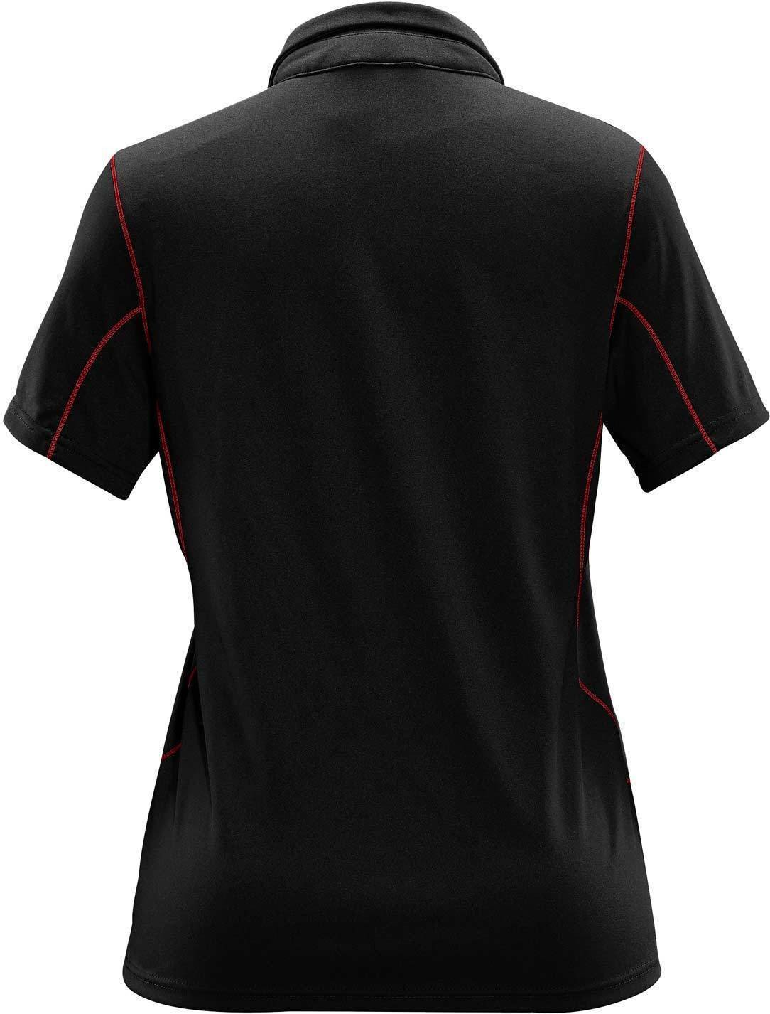 Black/Bright Red - Back