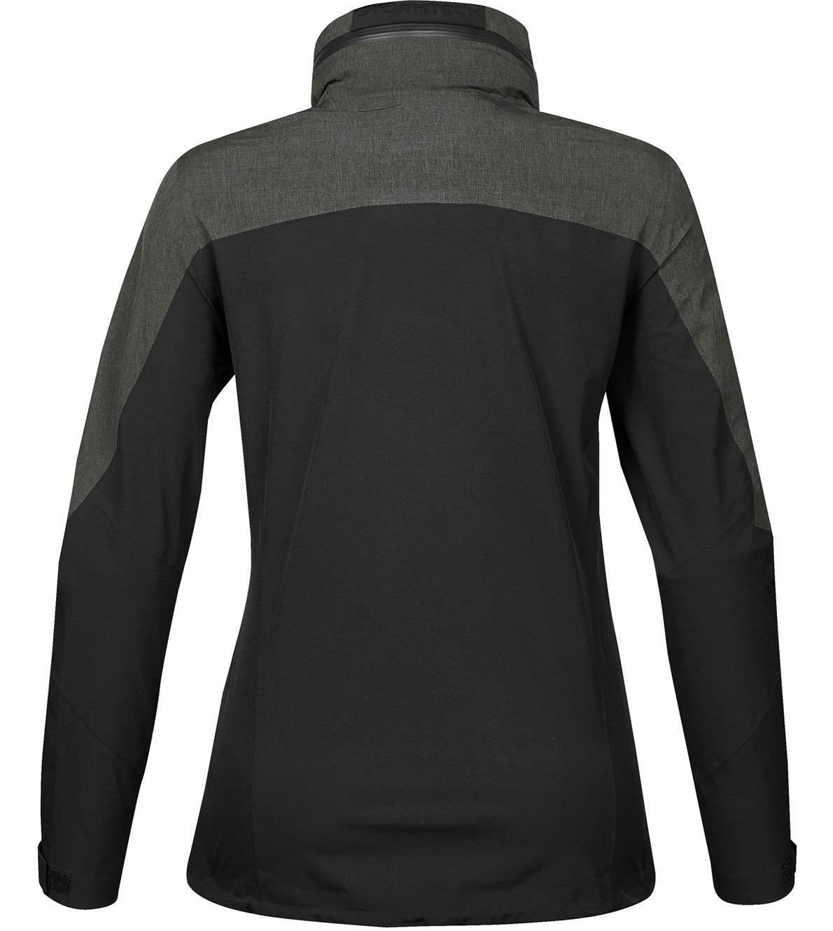 Black/Carbon Heather - Back
