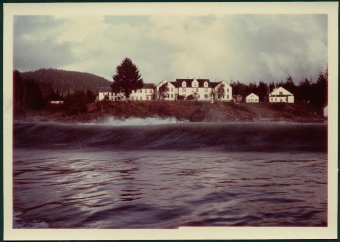 [Photograph of the Christie Roman Catholic school on Meares Island, BC.]