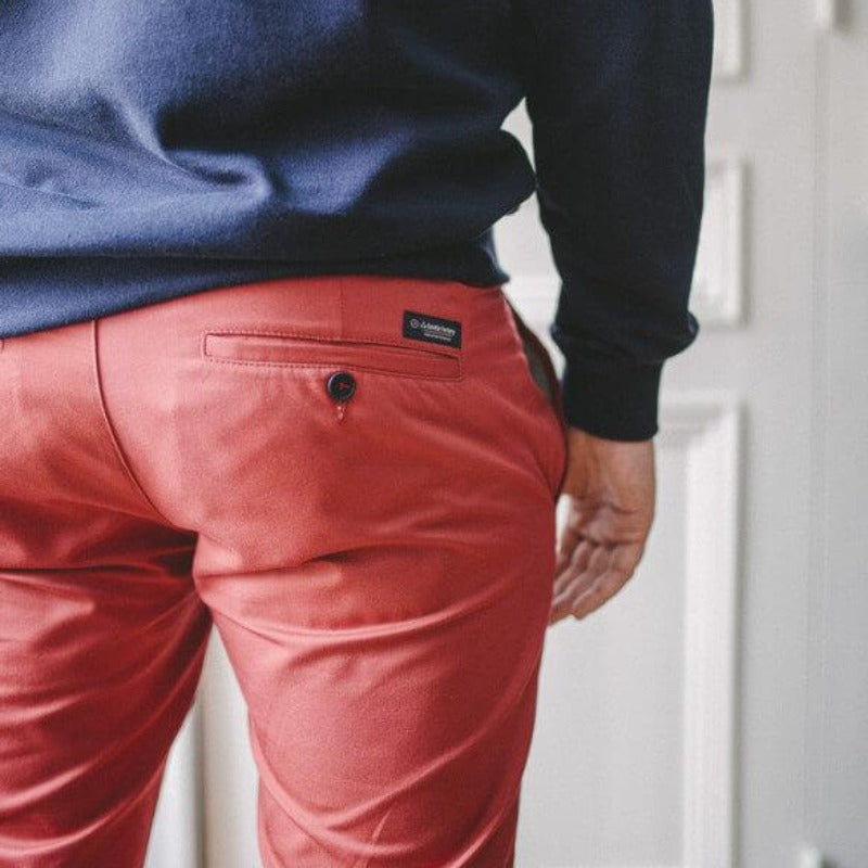 chino rouge - l'habit français - la gentle factory