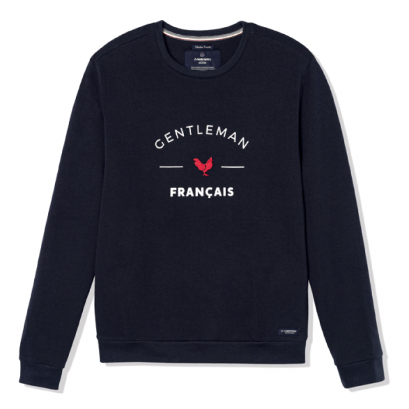 Sweat-shirt Gentleman Français - L'Habit Français - La Gentle Factory