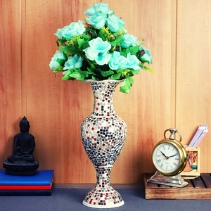 Beautiful glass vase for home decor from MIthila House