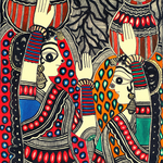 Women of My Village- Set of 3 Soulful Painting