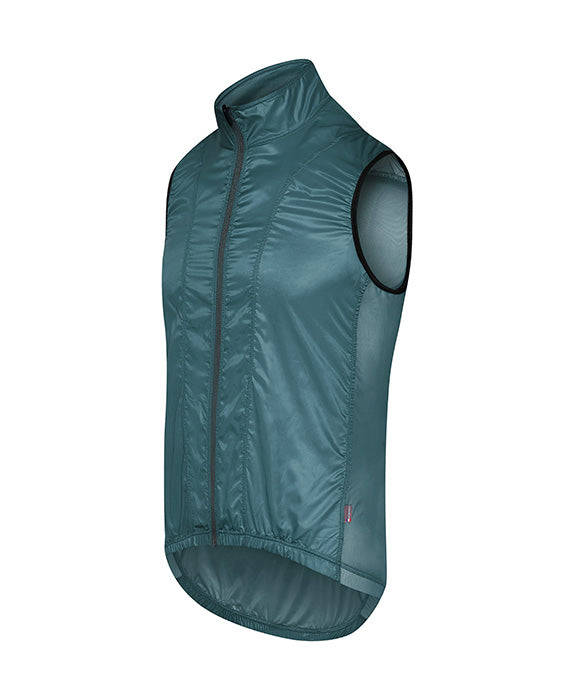 Café du Cycliste Petra Gilet - Mountain Green