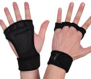 Heavy Weight Lifter Palm Protector Gloves - Gorilla Workouts