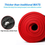 Ultra Thick 10mm Non-Slip Fitness Mat - Gorilla Workouts