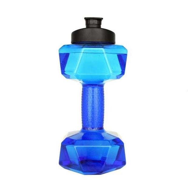 Dumb Bell Shaped 2.2L Portable Water Bottle - Gorilla Workouts