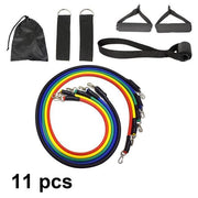 All Rounder Strength Training Resistance Bands Set- 11x - Gorilla Workouts