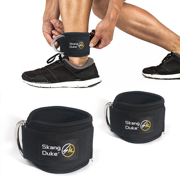 Skang Duke Ankle Guard Double D-Ring Padded Straps - Gorilla Workouts